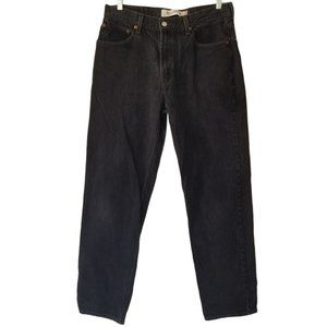Levis 550 Relaxed Fit Tapered Leg Jeans Black